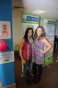 Breast Cancer awareness Ciara Dunne and Susan McGarry