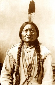 Son of a morning Star Chief Sitting bull