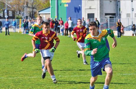 Clanna Gael Fontenoy U16 v St Maurs