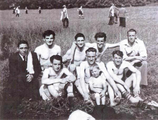 jimmy Purdy Terns at Eastern Break Water 1949