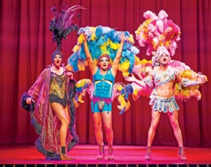 Priscill_Jason Donovan as Tick and Graham Weaver as Felicia - Priscilla Queen of the Desert - Photo credit Paul Coltas