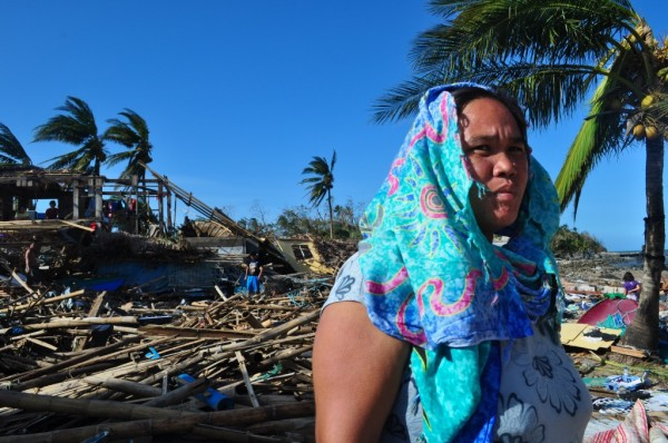 Image of the devastation caused by Typhoon Haiyan