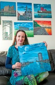 Artist in profile Sueann Moore