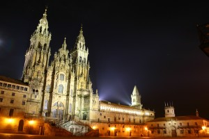 Camino 1 -Catherdral de Santiago de Compostela - from wikimedia commons