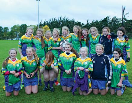 Clanna Gael Fontenoy, 21 Nov'13 U-13 girls team v St Brigids
