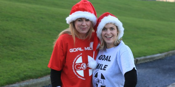 Sporting Stars Team Up For GOAL Mile