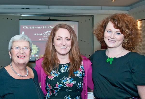 launch_Karen Madsen, Ann Ingle, Karen Keegan, Emma Dwyer