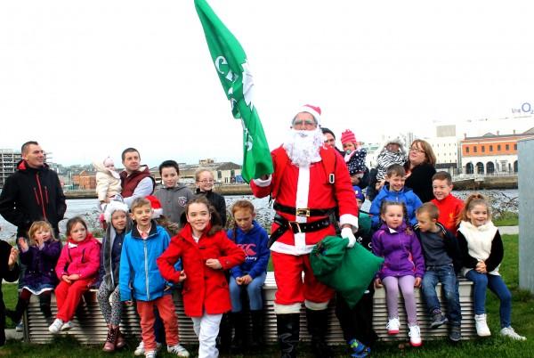 Santa in Ringsend