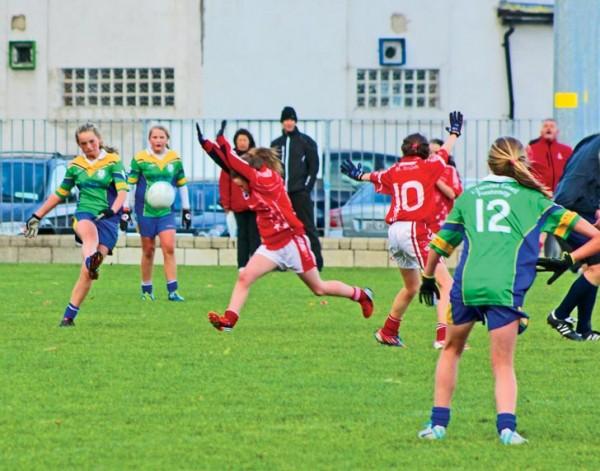Clanna Gael Fontenoy U-13 girls v St Brigids 2