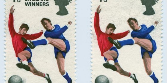 1966 World Cup Stamp
