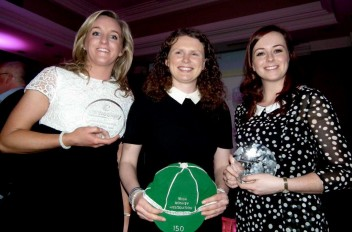 Sandymount clean up at the Irish Hockey Association Awards