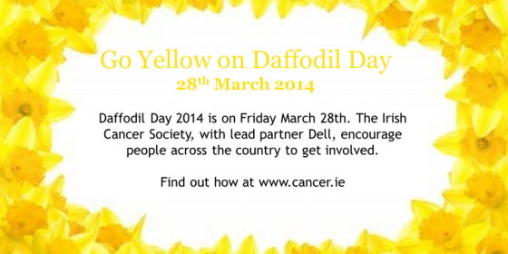 Daffodil Day in Ringsend