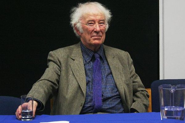 Picture of the Irish poet and Nobel Prize winner Seamus Heaney at the University College Dublin, February 11, 2009. Pic: Sean O'Connor via Wikimedia Commons
