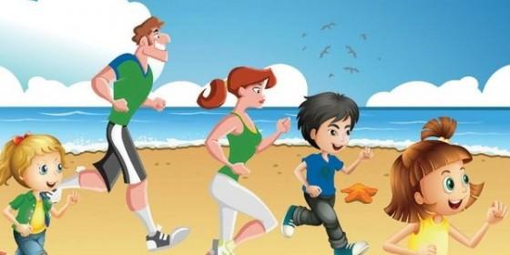 Clanna Gael Beach Run 2014