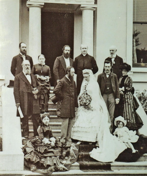 MasterBuilders2 -1884 Muckross Wedding  Crannys left, Plunketts right