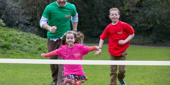 Eversheds Present the School Sports Day for Barretstown