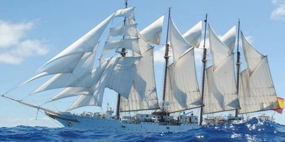 All Aboard the World's 3rd Largest Tall Ship