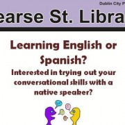 Spanish/English Language Exchange at Pearse Street Library