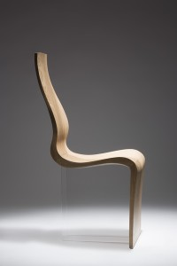 Enda Scott's winning entry Obliquity Chair Pic: RDS