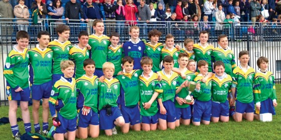 Clanna Gael Fontenoy are Féile Champions