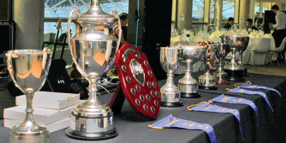 Railway Union Rugby - Railway's Fourteen Trophies in Two Seasons