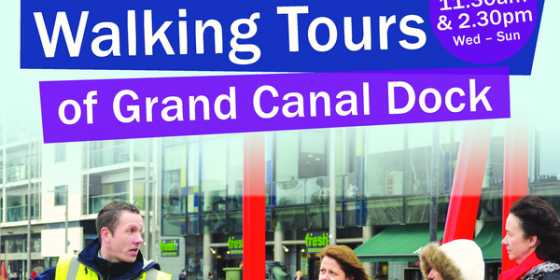Grand Canal Dock Walking Tour