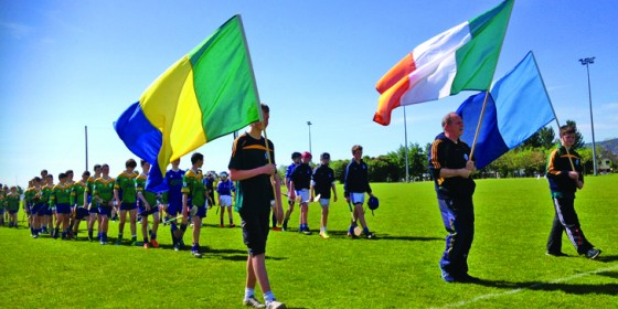 Clanna Gael Flies the Flag