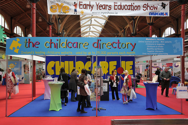 The Childcare Directory's stand at EYE2013 Pic: Early Years Education Show