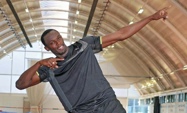 Usain Bolt, the fastest man on earth.