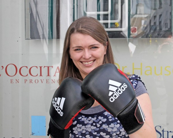 Fiona Kelly, of Sandymount Pharmacy, who will be taking part in the Big Heart Fight Night on November 8th to raise money for the Irish Heart Foundation.