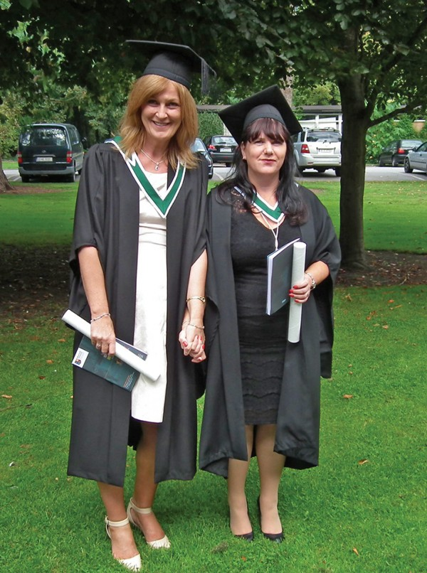 Sharon Donnelly and Liz McAuley of the Anchorage Playschool in Ringsend both graduated at NUI Maynooth on September 12th 2014. They both received BAs in Early Childhood Education.