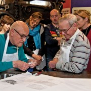 Print workshop for Seniors
