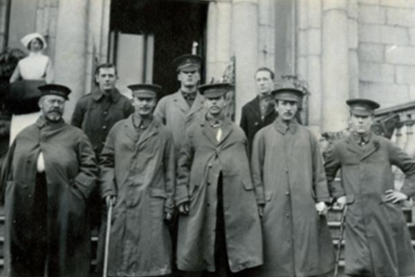 Royal Dublin Fusiliers Pic: Dublin City Council