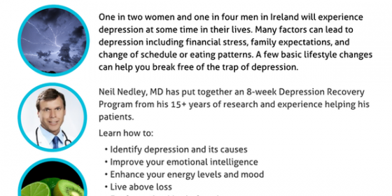 Nedley Depression Recovery Program