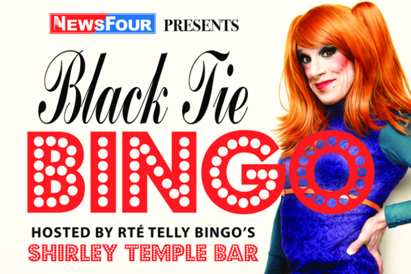 Black Tie Bingo Poster