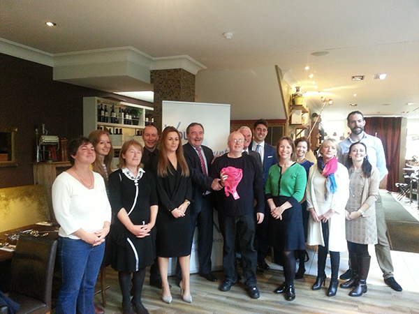 Pictured far left: Michele O' Briain, with members of Sandymount Business Network.