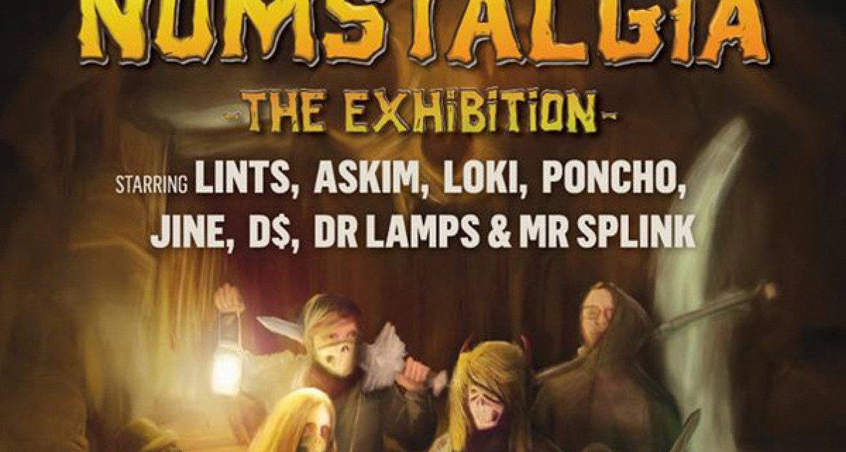 White Lady Art Gallery Presents Nomstalgia - The Exhibition