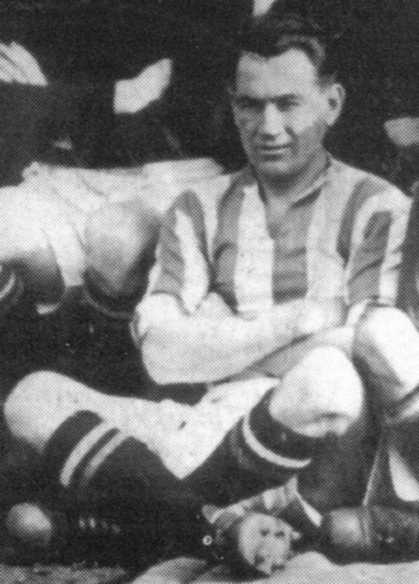 Pictured: Fullam pictured during his time at Leeds Utd FC.