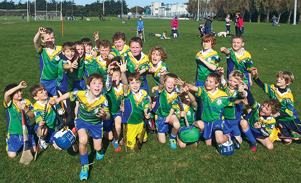 Pictured: Clanns U-9 hurlers in good form after their blitz.