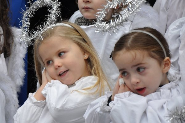 Little Angels from St Josephs Nursery, Morning Star Road Dublin 8 Pic: Dublin City Council
