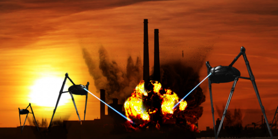 Ringsend Rock School Presents War of the Worlds