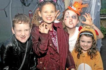 Halloween in the Heritage Garden