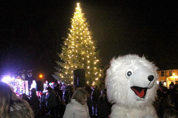 The lights go on in Sandymount in 2013. Pic: NewsFour's Ross Waldron