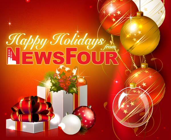 Happy Holidays from NewsFour