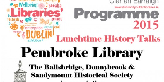 Pembroke Library Presents Lunchtime History Talks