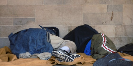 Homeless Dáil Sleep Out
