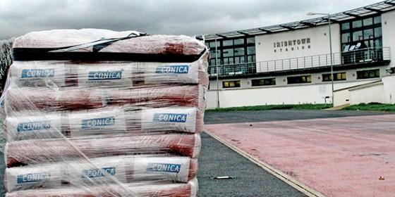 On track at Irishtown Stadium