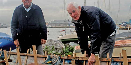 New life for old training skiff