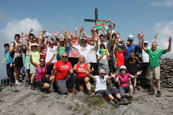 Last year's Climb 4 Concern to Carrauntoohil. Pic: Concern