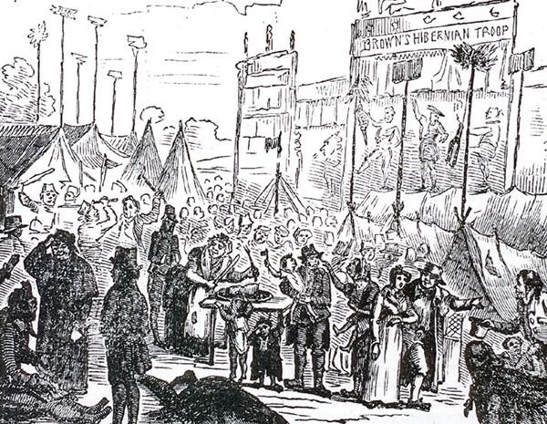 Pg 18 Donnybrook fair circa 1835